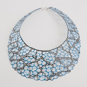 necklace alena willroth black blue