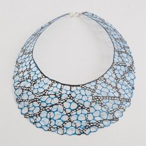 necklace alena willroth black blue