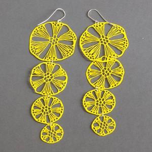 Earrings alena willroth yellow