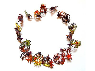 Necklace by Nora Kovats